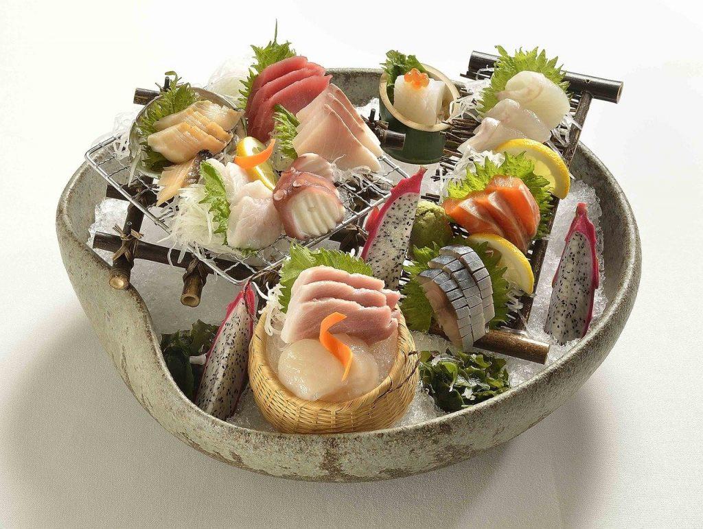 asian food, sushi, seafood