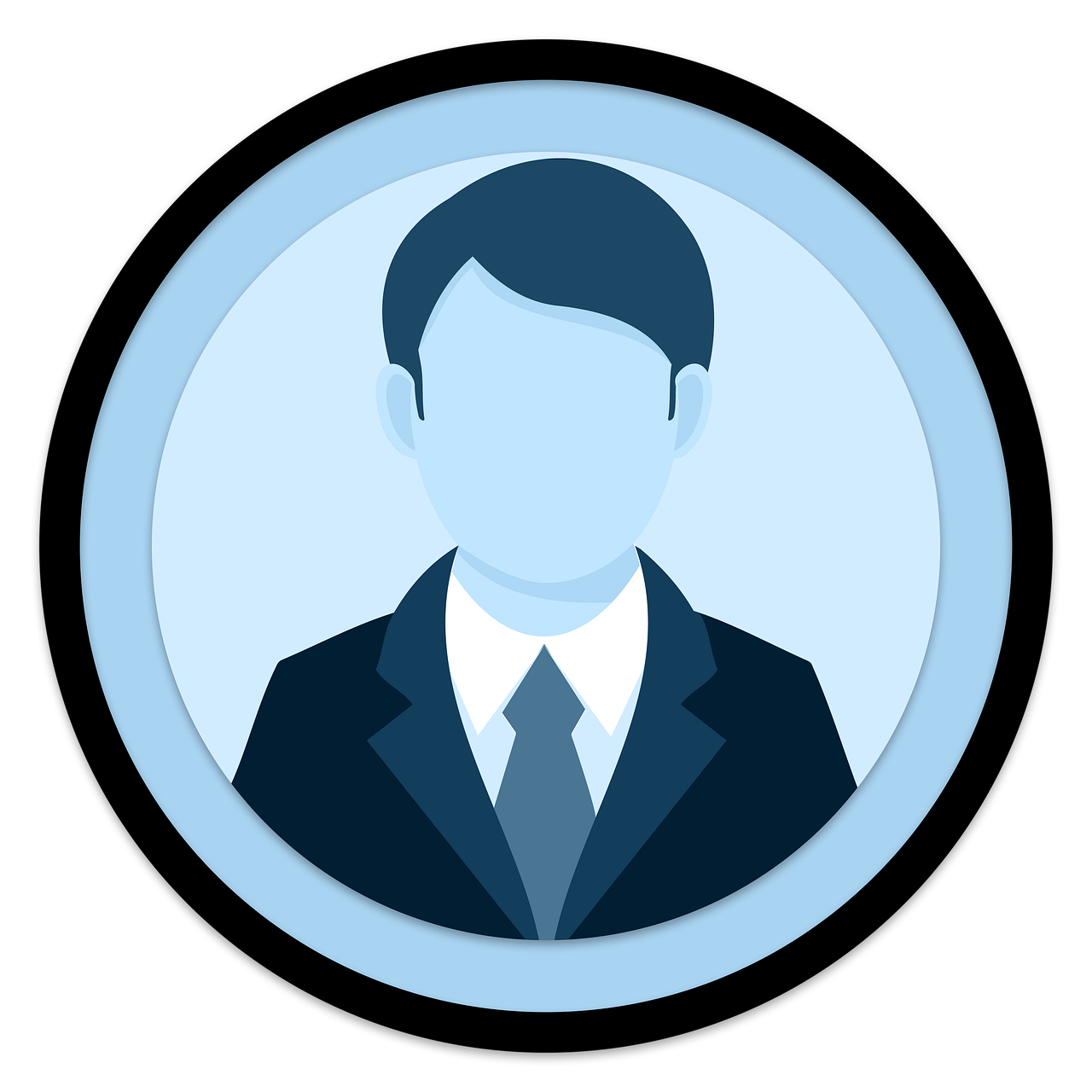 icon, user, male
